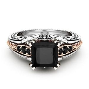 Jewelry - Sterling Silver Black Sapphire Ring